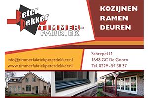 Logo Peter Dekker Timmerfabriek